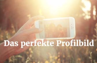 So sollte dein Profilbild aussehen